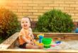 Sandkasten für Kleinkinder